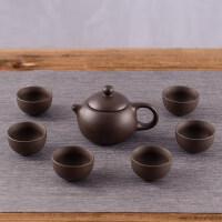 茶盘实木家用托盘现代简约石头客厅小茶台功夫茶具套装茶海茶托