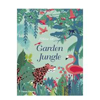 【T&H】【Hélène Druvert】Garden Jungle丛林花园 英文原版艺术绘本