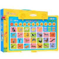 阳光宝贝 有声图卡画板幼儿童启蒙挂图早教认知识字发声语音