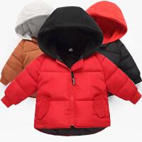 2018新款儿童羽绒男童女童加厚冬装宝宝棉衣小童棉袄童装外套