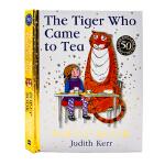 英文原版TIGER WHO CAME TO TEA POP HB老虎来喝下午茶