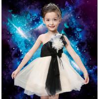 儿童圣诞服宝宝生日礼服婚纱花童蓬蓬裙儿童公主裙主持走秀演出服