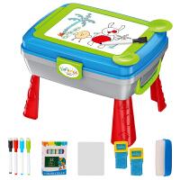多功能折叠彩色涂鸦板小孩幼儿背包玩具儿童画板水笔可擦写字板