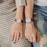 情侣手表一对手表女简约时尚潮流对表防水男女士手表学生