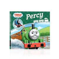 Thomas and Friends 托马斯和他的朋友们 英文原版 Percy 儿童图画书平装绘本 启蒙小开本故事书