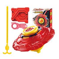 战斗王之飓风战魂V拉线陀螺玩具战神之翼 烈破炎龙入门版