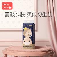 babycare拉拉裤皇室弱酸亲肤裤型尿裤超薄透气大码尿不湿L32片