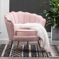 小户型网红轻奢单人沙发北欧现代简约客厅卧室服装店沙发双人沙发