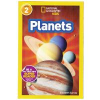 英文原版绘本National Geographic Kids Level2:Planets 国家地理分级阅读 少儿科普
