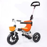 儿童车三轮脚踏车儿童三轮车1-3岁宝宝手推车折叠婴幼儿童脚踏车小孩QL-57