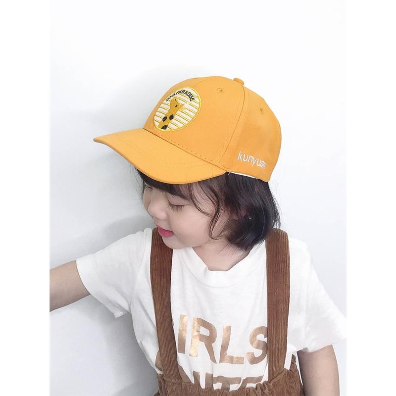 男女童夏天遮阳帽儿童春秋季鸭舌帽宝宝可爱棒球帽遮阳帽