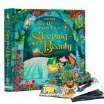 睡美人 Sleeping Beauty Pop-up Fairy Tales 英文原版 纸板立体书 童话故事绘本 亲子
