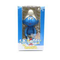 蓝精灵 格格巫塑胶摆件模型公仔摆件 生日礼物 儿童玩具玩偶