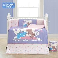 婴儿床上用品九件套床品婴儿床围宝宝床围套装四季