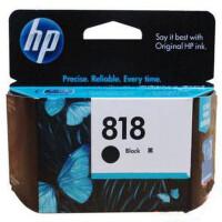 惠普原装818黑色墨盒 818BK HP 818黑色 HP 1668 墨盒