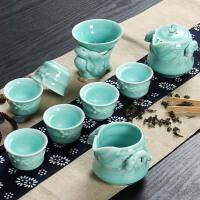 尚帝 整套茶具套装 青瓷功夫茶具套装 陶瓷茶具BH2014-412A