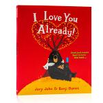 英文原版 大熊与鸭子系列:我本来就很爱你啊 I Love You Already! 获奖名家绘本 Benji Davi