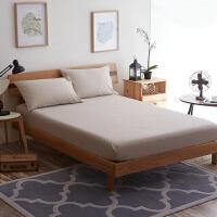 水洗棉床单单件 纯棉学生宿舍单人双人1.5米1.8m床全棉被单三件套