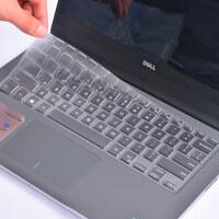 14英寸DELL戴尔笔记本电脑键盘膜灵越燃7000 ii二代7460 7560 7472 i5-75 轻薄高透TPU