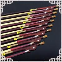 二胡弓子紫檀琴弓鱼白马尾毛演奏弓84cm二胡乐器配件弦松香