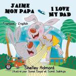 【预订】J'aime mon papa I Love My Dad: French English Bilingual