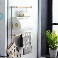 日式冰箱挂架侧壁挂架厨房收纳架调味料磁性厨房置物架厨房用品 冰箱架(磁铁架)
