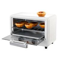 �W�c�器oudim迷你多功能�烤箱 �p�涌疚� 烘烤�捎� �{�囟�r�器 12升 OD-T12A 白色
