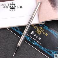公爵通用0.5mm签字笔芯宝珠笔芯替芯平口水笔芯直插式公爵笔芯