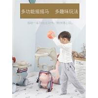 多功能投篮木马儿童座椅礼物婴儿宝宝摇椅塑料摇马