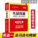 巨微英语2019考研英语 考研真相 考研英语(一)真题 细读经典 高分突破版(2005-2012)