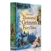英文原版 Usborne Illustrated Grimm's Fairy Tales 精装插画版 格林童话故事书