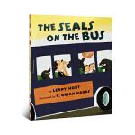 顺丰发货 The Seals on the Bus Lenny Hort 经典儿童英文原版绘本 图画读物 吴敏兰推荐绘