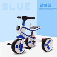 儿童车三轮脚踏车3-6岁一车两用男女宝宝滑行车自行车可折叠QL-57