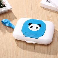 湿巾盒空盒 外出婴儿口手湿巾盒便携式纸巾盒防尘带盖婴儿湿巾盒收纳盒g
