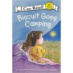 顺丰包邮 Biscuit Goes Camping 小饼干去露营 I Can Read My First 英文原版亲子