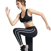 女士运动健身瑜伽长裤跑步训练薄透气速干紧身裤