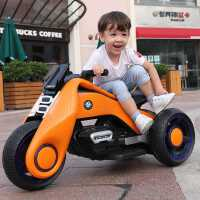儿童电动车摩托车三轮车童车电瓶男女宝宝小孩玩具双驱大号可坐人