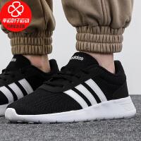 Adidas/阿迪达斯男鞋女鞋新款低帮运动鞋网面透气舒适轻便防滑耐磨休闲跑步鞋EH1323