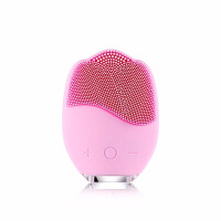德国贝儿郁金香洁面仪贝尔电动美容洗脸清洁毛孔神器 粉红色