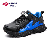 永高人男童鞋冬季棉鞋加绒二棉保暖防滑耐磨儿童运动鞋2019年新款