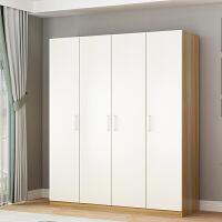 衣柜现代简约经济型组装实木板式家用卧室租房衣橱儿童简易大衣柜