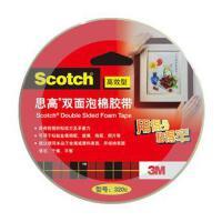3M思高泡棉双面胶带(高效型)320C 24mm*5.5m