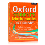 牛津学生数学字典词典Oxford Student's Mathematics Dictionary 英文原版工具书 涵