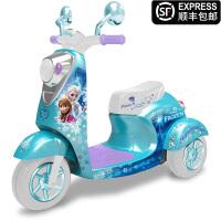 儿童电动摩托车玩具车男女小孩可坐人充电2-6岁宝宝三轮车电瓶车