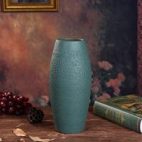 景德镇陶瓷花瓶插花摆件多肉简约现代复古客厅装饰桌面小鲜花
