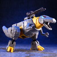 变形玩具金刚5拼装钢索霸王龙恐龙机器人男孩儿童模
