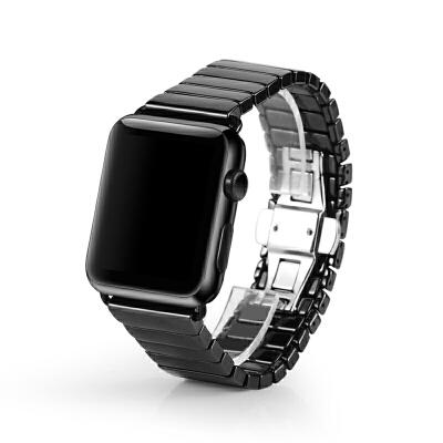 苹果手表表带 apple watch2陶瓷表带iwatch苹果手表带42mm38男女