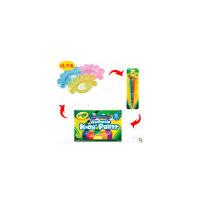Crayola 绘儿乐6色可水洗儿童早教*水彩颜料调色盘54-1204