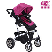 婴儿推车高景观可坐躺双向四轮避震儿童轻宝宝手推车zf10