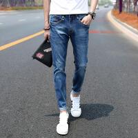 2015秋冬装新款韩版修身小脚男士牛仔裤牛仔长裤子男裤潮